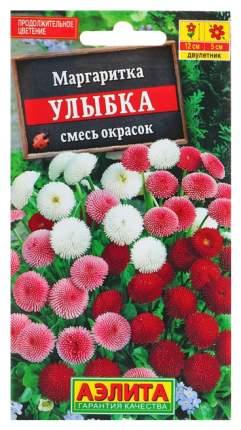 Семена цветов Аэлита Маргаритка помпонная смесь двулетник