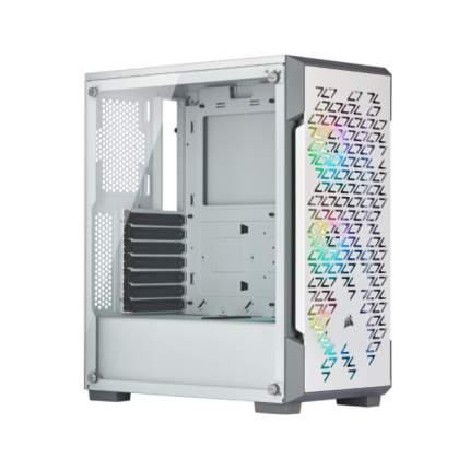 Корпус компьютерный Corsair iCUE 220T RGB White (CC-9011174-WW)