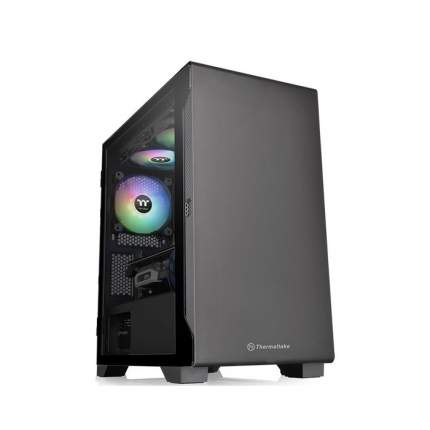 Корпус компьютерный Thermaltake S100 TG Black (CA-1Q9-00S1WN-00)