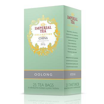 Чай Imperial Tea Collection Oolong зеленый байховый коллекционный китайский улун 25*50 г