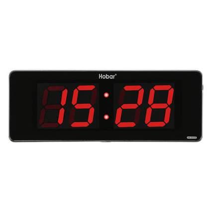 Часы настенные Hobar (Красный)