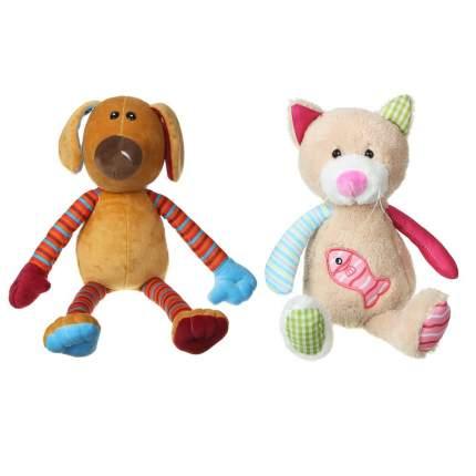 Мягкая игрушка Мешок подарков Собака/Кошка, в ассортименте