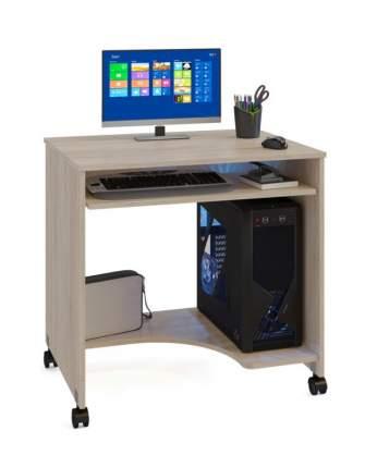Компьютерный стол СОКОЛ КСТ-15 КС15дс, дуб сонома