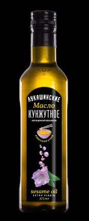 Масло Лукашинские кунжутное нерафинированное 375мл