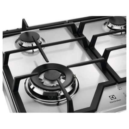 Встраиваемая варочная панель газовая Electrolux GEE363MX Silver
