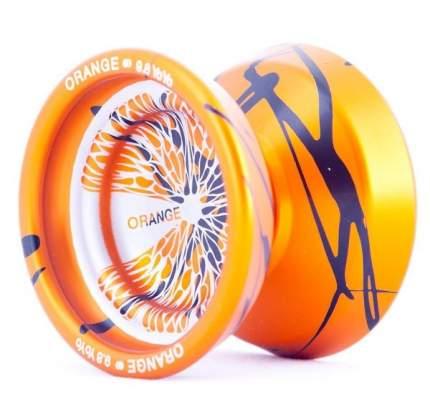 Йо-йо 9.8 Orange Splash оранжевый/черный