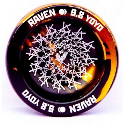 Йо-йо 9.8 Raven Splash золотой/черный
