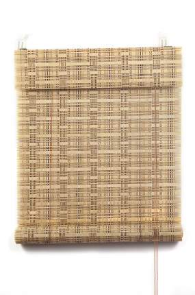 Рулонные шторы, ПраймДекор, Кантри, бамбук , 50Х160
