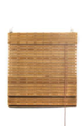 Римские шторы, ПраймДекор, Макао, бамбук, 80Х160