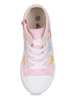 Кеды для девочек Honey Girl, цв. розовый, р-р 28