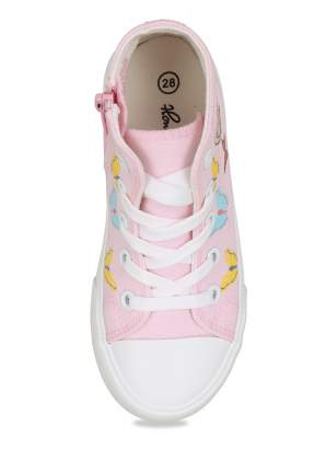 Кеды для девочек Honey Girl, цв. розовый, р-р 27