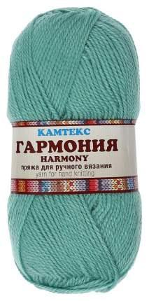 "Пряжа Камтекс ""Гармония"", цвет: 025 мята, 245 м, 100 грамм (5 мотков) ( 5)"