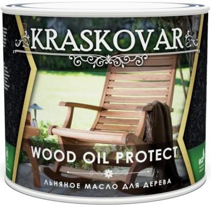 Масло льняное для дерева Kraskovar Wood Oil Protect  2,2 л