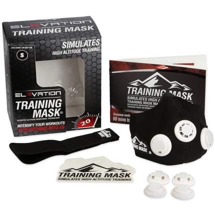 Тренировочная маска Elevation Training Mask черный L