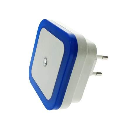 Светодиодный ночник Espada светильник с датчиком света/освещенности E-05Blue