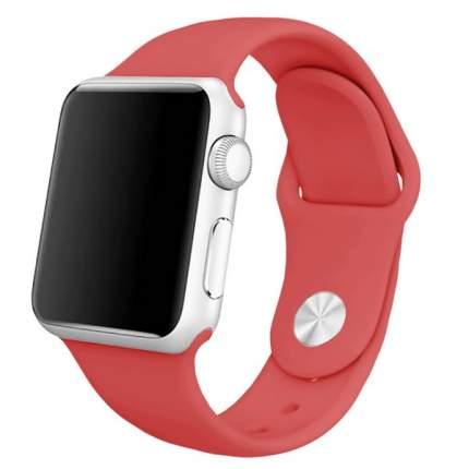 Ремешок Krutoff Silicone для Apple Watch 42/44mm (red)