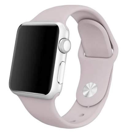 Ремешок Krutoff Silicone для Apple Watch 42/44mm (lavender)