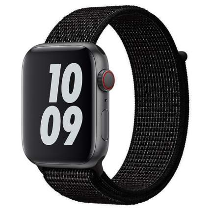 Ремешок Krutoff Nylon для Apple Watch 42/44mm (black)