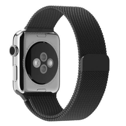 Ремешок Krutoff Milanese для Apple Watch 42/44mm (black)