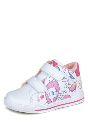 Ботинки для девочек MY LITTLE PONY, цв. белый, р-р 26