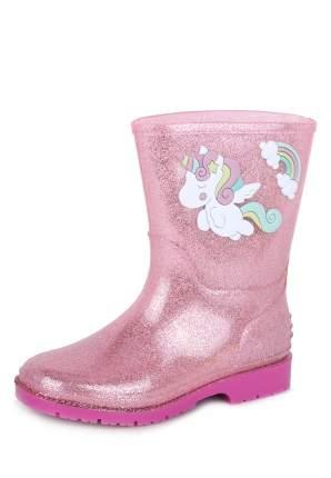 Резиновые сапоги для девочек Honey Girl, цв. розовый, р-р 26