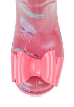 Резиновые сапоги для девочек Honey Girl, цв. коралловый, р-р 26