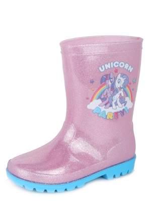 Резиновые сапоги для девочек MY LITTLE PONY, цв. розовый, р-р 26
