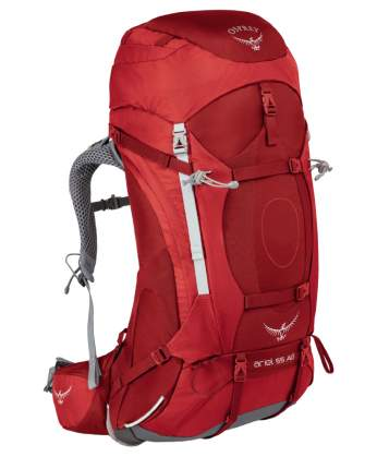 Osprey Ariel 55 AG picant red 55L