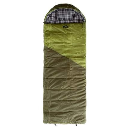 Спальный мешок Tramp Kingwood Regular зеленый, левый