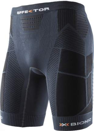 Термошорты X-Bionic Effektor Trail Running Power Pants, charcoal/black, S