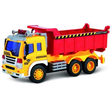 Машина грузовик-самосвал игрушечный со световыми и звуковыми эффектами