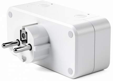 Умная розетка Satechi Dual Smart Outlet Apple HomeKit (ST-HK20AW-EU)