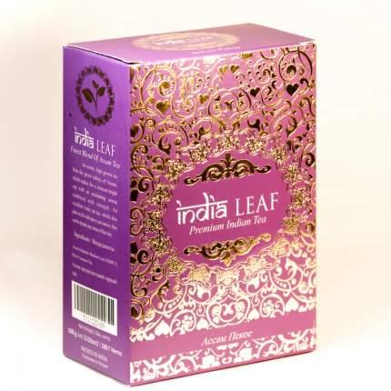 """Чай India leaf """"Ассам пекое"""", черный среднелистовой, 100 гр"""