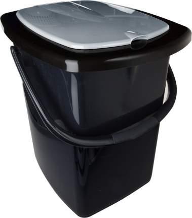 Ведро-туалет Plast team PT9080ЧЕРН-6РS 22 л
