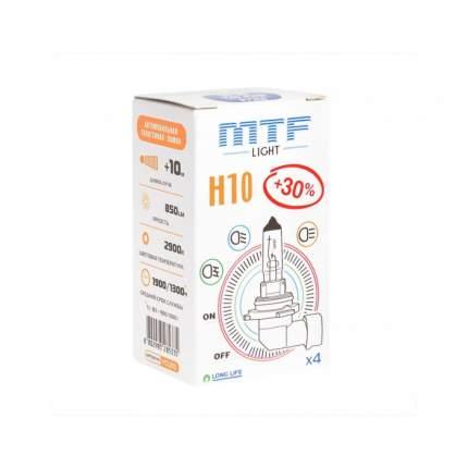 Лампа галогенная MTF Light HS1210 H10 12V 42W- Standard +30% HS1210