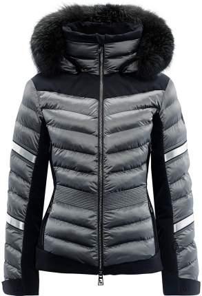 Горнолыжная куртка Toni Sailer Madita Splendid Fur (20/21) (Серый)
