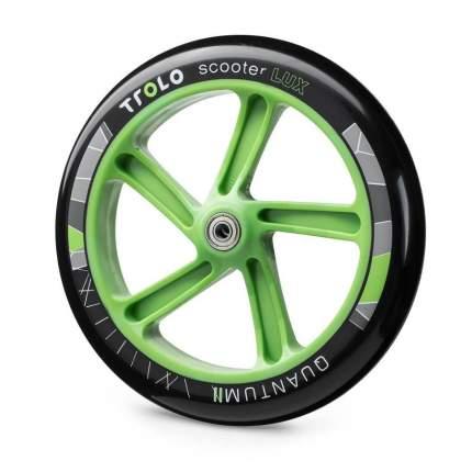 Колесо для самоката Trolo Quantum 2 230 мм черное/зеленое
