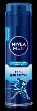 Гель для бритья NIVEA Экстремальная свежесть 200 мл
