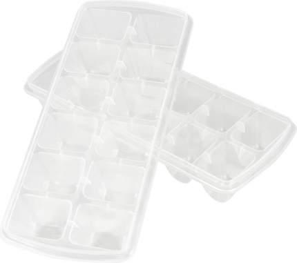 Набор формочек для льда 12 ячеек 2шт. натуральный