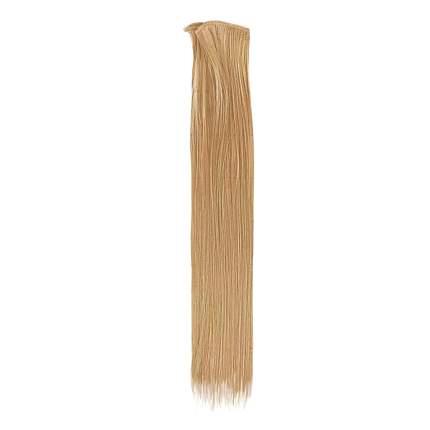 """2294370 Трессы для кукол """"Прямые"""" длина волос 40 см, ширина 50 см, №16"""