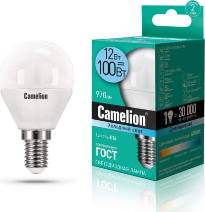 Лампа Camelion LED12-G45/845/E14