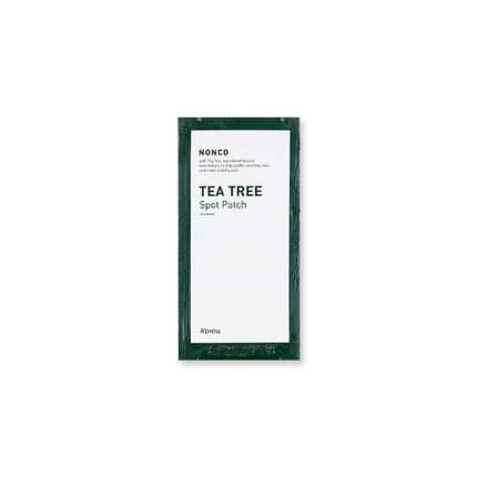 Лечебные патчи A'PIEU Nonсo Tea Tree Spot Patch от акне с чайным деревом