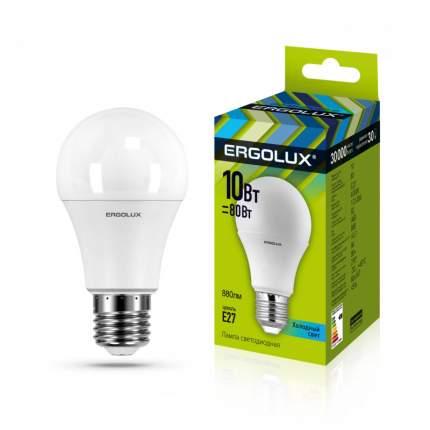 Лампа Ergolux LED-A60-10W-E27-4K