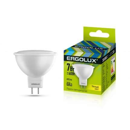 Лампа Ergolux LED-JCDR-7W-GU5.3-3K