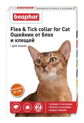 Ошейник для кошек против блох, власоедов, вшей, клещей Beaphar Flea & Tick оранжевый, 35см