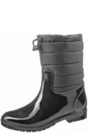 Сапоги резиновые Keddo 568316 черные, размер 36
