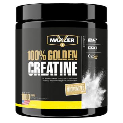Креатин Maxler 100% Golden Creatine, 1000 г, unflavored