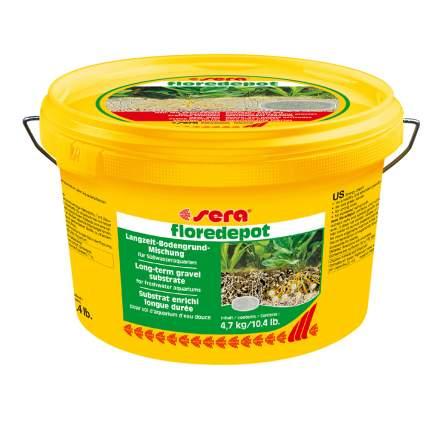 Грунт для аквариума sera Floredepot 4,7 кг