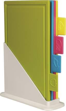 Набор досок разделочных Giaretti Bono на подставке (4 шт.) 248х82х310 мм цвет микс