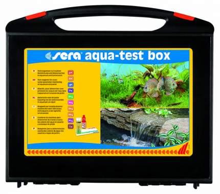 Набор тестов для воды Sera AQUA-TEST-BOX (рН, GH, KH, NH4/NH3, NO2, NO3, PO4, Fe, +Cu)